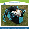 Lovoyager Blue and Black Cozy Dog Pet Carrier Bag Head Our Design