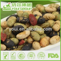 2014 BRC certified Roasted Bean & Dried Fruits Mix