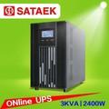 C3k/s de una sola fase de ups en línea 220v 110v con el certificado del ce