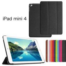 Slim-Fit Folio Case for iPad Mini 4, for Apple iPad Mini 4 Smart Case Cover with Auto Sleep/Wake