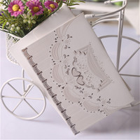 high class fancy design paper envelope for gift card