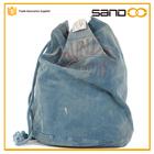 Alta qualidade da china fornecedores novos quente de algodão saco de roupa, popular saco de roupa cordão