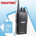 Radio de dos vías de comunicación t-800 fm transmisor-receptor de radio de larga distancia hablando