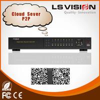 LS VISION h.264 hardware compression dvr economical 16ch dvr hd video record mini dvr