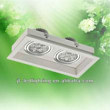 Bridge Lux 10W LED Ceiling Light Silver Body