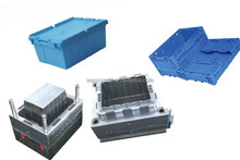 Taizhou New Plastic Folding Container With Lid Mould,Plastic Folding Box Mould