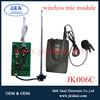JK006C Good quality vhf wireless collar microphone pcb
