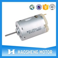 12 V micro dc motor for hair dryer RS-380 PA-15120