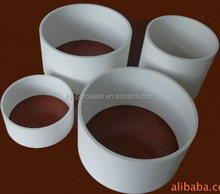 EXCELLET HARDNESS Ceramic 85-99.7% Al2O3 Alumina Protection And Insulating Big Tube And Pipe