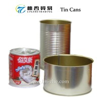 (C06) Printed Empty Tin Can For Food Packaging Especially Canned Mushrooms, Fruits, Juice,Tea, Pet Foods, Beverages
