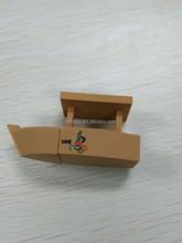 Custom PVC 3D shaped dubai creek boat pen drive usb flash drives 8gb usb flash memory drive