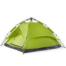 Easy folding outdoor automatic camping tent for 3-4 persons