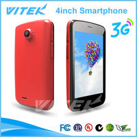 NEW mtk 6572 dual core android 4.0 inch hvga touch screen mobile phones
