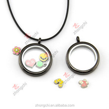 Plating Black color locket, not fade color charms locket for man, cool style fashion charms for boys