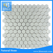 2016 Hot selling natural hexagon stone mosaic tile,marble dining table prices