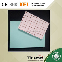 fiberglass ceiling hard strehgth sound-absorbing lay-in ceiling