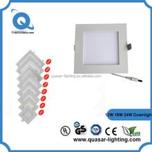 AC85-265V 24W led down light With LED Driver Recessed cob led downlight for indoor use