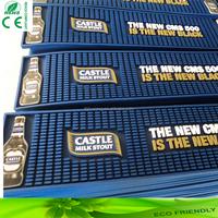 new products custom color printing bottle shape pvc bar mat