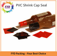 Tamper Evident Bottle Neck Shrink Sleeve With One Color Printed