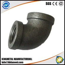 Banded pipe fitting Hot dipped galvanized malleable pipe fitting on Alibaba