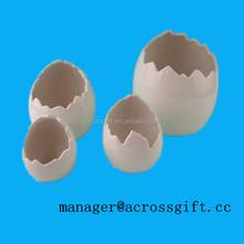 Hotsale funny Ceramic Broken Egg Holder for easter holiday