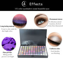create your own brand eye shadows Palette with 252 color mixed color eyeshadow palette