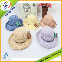 2015 fashion personality and high quality straw hat wholesale for summer