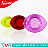 5ml colored plastic cosmetic jar container