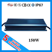 5 years warranty Constant Current Waterproof 150 w LED driver