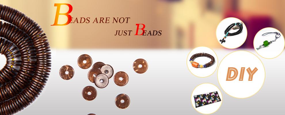 Échantillon gratuit coco naturelle perles anciennes collier bijoux