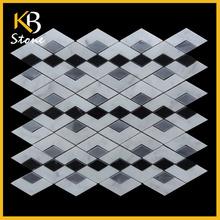 Pulido chino patrones del patrón de flor azulejos de la pared
