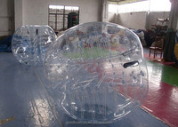 Dia 1.2/1.5/1.8 m soccer bubble football/ TPU/PVC bubble football suits durable inflatable ball giant plastic bubble for