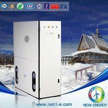 multfunction water/ground source heat pump wood fired water heater