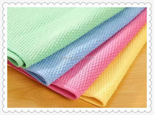 Microfiber super absorbent French terry cleaning cloth