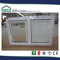 Australia Standard AS2047 PVC Window/ blind inside double glass window