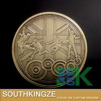 Ornamental metal replica the Beatles antique bronze souvenir coin