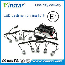 10W high power superbright led car/auto light flexible led drl/ daytime running light 100% waterproof