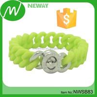 Cheap Costomize Wristband Custom Silicon Bracelet