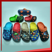 Two color eva clogs sandal for kids Children eva garden shoes