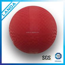 "13"" big rubber playground ball"