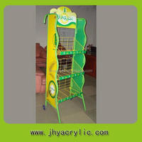 Special new arrival wire rack/metal containers for cosmetic