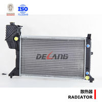 Auto engine cooling radiator with oli cooler inside for MB SPRINTER W901-905 1995-2000 OE No.9015003400 (DL-A167A)