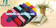 Deluxe Dual-Use Flip PU Leather case for iphone /samsung