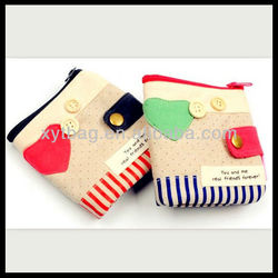 Girls and boys unique purse and wallet factory cheap wholesale
