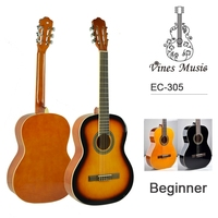 "OEM 39""36""34"" good quality beginner concert classical guitar price"