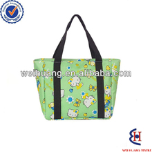 broken heart reusable polyester shopping bag