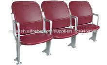 asiento para el estadio al aire libre y golpe plegable de plástico moldeada estadio Presidente