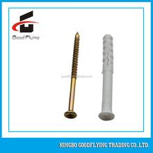 Hot sales 2015 China Ningbo high quality good price Fisher type wall plug plastic anchor/ nylon fisher type