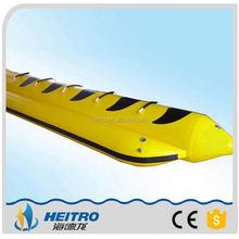 Small MOQ Fashionable Inflatable Dolphin Banana Boat
