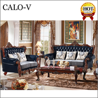 china manufacturer furniture pictures of wood carved antique sofa set styles
